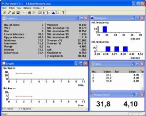 BAREISS HARDTEST for Windows V 2.1 Software
